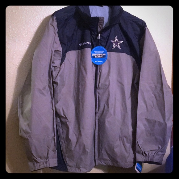 timeless design 124c6 38d35 Columbia rain jacket waterproof fabric 🏈NFL NWT
